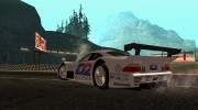 Mercedes-Benz CLK GTR Road Version with Carbon Spoiler для GTA San Andreas миниатюра 3