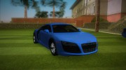 Audi R8 5.2 FSI for GTA Vice City miniature 2