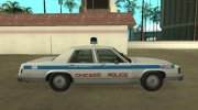 Ford LTD Crown Victoria 1987 Chicago Police Department for GTA San Andreas miniature 6