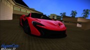McLaren P1 2013 for GTA Vice City miniature 1