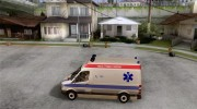Mercedes-Benz Sprinter Baku Ambulans для GTA San Andreas миниатюра 2