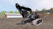 Liebherr A 900 C Litronic Apache for Farming Simulator 2015 miniature 1