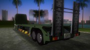 DAF XF 530 2002 Army for GTA Vice City miniature 4