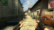 Bloody Knife (first skin) для Counter-Strike Source миниатюра 1
