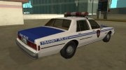 Chevrolet Caprice 1987 NYPD Transit Police for GTA San Andreas miniature 3