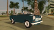 Trabant 601 Custom for GTA Vice City miniature 1