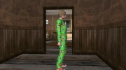 Female Green Pajamas DLC for GTA San Andreas miniature 3