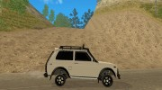 LADA NIVA 21213-OFF-ROAD для GTA San Andreas миниатюра 5