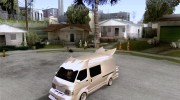 Toyota Hiace Vanning for GTA San Andreas miniature 1