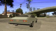 Audi 100 Coupe S 1974 for GTA San Andreas miniature 4