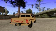 Toyota Hilux 2010 for GTA San Andreas miniature 4