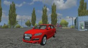 Audi Q7 Civil для Farming Simulator 2013 миниатюра 1