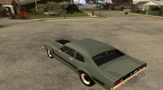 Ford Maverick GT 1977 для GTA San Andreas миниатюра 3