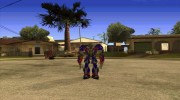 Optimus Prime Skin from Transformers for GTA San Andreas miniature 2