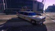 "Cadillac Miller-Meteor 1959 ""Ghostbusters ECTO-1"" for GTA 5 miniature 3"