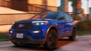 2020 Ford Explorer ST for GTA 5 miniature 3