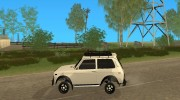 LADA NIVA 21213-OFF-ROAD для GTA San Andreas миниатюра 2