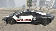Lamborghini Reventón Hot Pursuit Police AUTOVISTA 6.0 для GTA 5 миниатюра 4