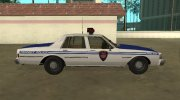 Chevrolet Caprice 1987 New York Transit Police for GTA San Andreas miniature 6