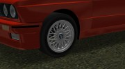 BMW M3 (E30) 1987 for GTA Vice City miniature 6