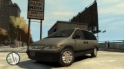 1996 Plymouth Grand Voyager for GTA 4 miniature 1