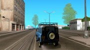 Land Rover Defender 110 for GTA San Andreas miniature 3