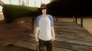 Carl Grimes from The Walking Dead для GTA San Andreas миниатюра 1