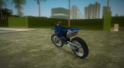 Yamaha YZ450F 2003 v2.1 for GTA Vice City miniature 4