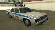 Ford LTD Crown Victoria 1987 Chicago Police Department for GTA San Andreas miniature 2
