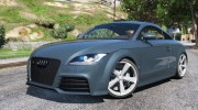 Audi TT RS 2013 v1 for GTA 5 miniature 1