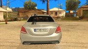 Mercedes-Benz C250 AMG Edition for GTA San Andreas miniature 5