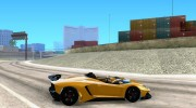 Lamborghini Aventador J TT Black Revel for GTA San Andreas miniature 5