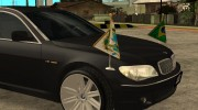 BMW E66-7 Series Limousine from Brazil для GTA San Andreas миниатюра 8