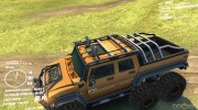 Hummer H2 SUT 6x6 for Spintires DEMO 2013 miniature 4