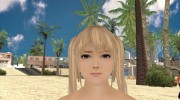 Dead or Alive 5 LR Marie Rose Nude для GTA San Andreas миниатюра 1