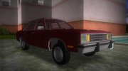 Ford Fairmont (4-door) 1978 for GTA Vice City miniature 2