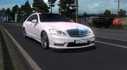 Mercedes-Benz S65 AMG for Euro Truck Simulator 2 miniature 1
