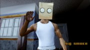 Bot Fan Mask From The Sims 3 для GTA San Andreas миниатюра 3