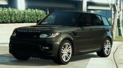 Ranger Rover Sport HST 2016 for GTA 5 miniature 1