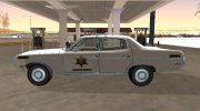 AMC Matador 1971 Hazzard County Sheriff for GTA San Andreas miniature 5