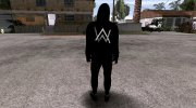 GTA Online Skin Random Alan Walker V1 for GTA San Andreas miniature 3