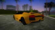 Lamborghini Murcielago LP640 Roadster for GTA Vice City miniature 4