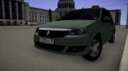 Renault Logan Taxi for GTA San Andreas miniature 6