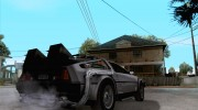 Crysis Delorean BTTF1 for GTA San Andreas miniature 4