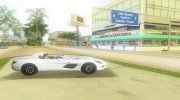 2008 Mercedes-Benz SLR Moss for GTA Vice City miniature 3