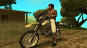 Yamaha XT 660 Enduro for GTA San Andreas miniature 1