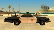 Oldsmobile Delta 88 1973 Los Angeles Police Department for GTA San Andreas miniature 6