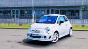 Fiat 500 Abarth for Euro Truck Simulator 2 miniature 1