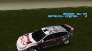 Subaru Impreza WRX STi Skyjacker из DiRT 2 для GTA Vice City миниатюра 12