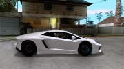 Покрасочные работы для Lamborghini Aventador LP700-4 2011 for GTA San Andreas miniature 5